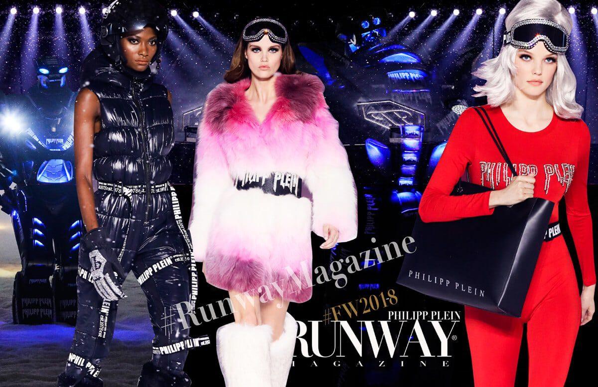 PHILIPP PLEIN PLEINSPACEINVASION by Runway Magazine NYFW Fall Winter 2018-2019