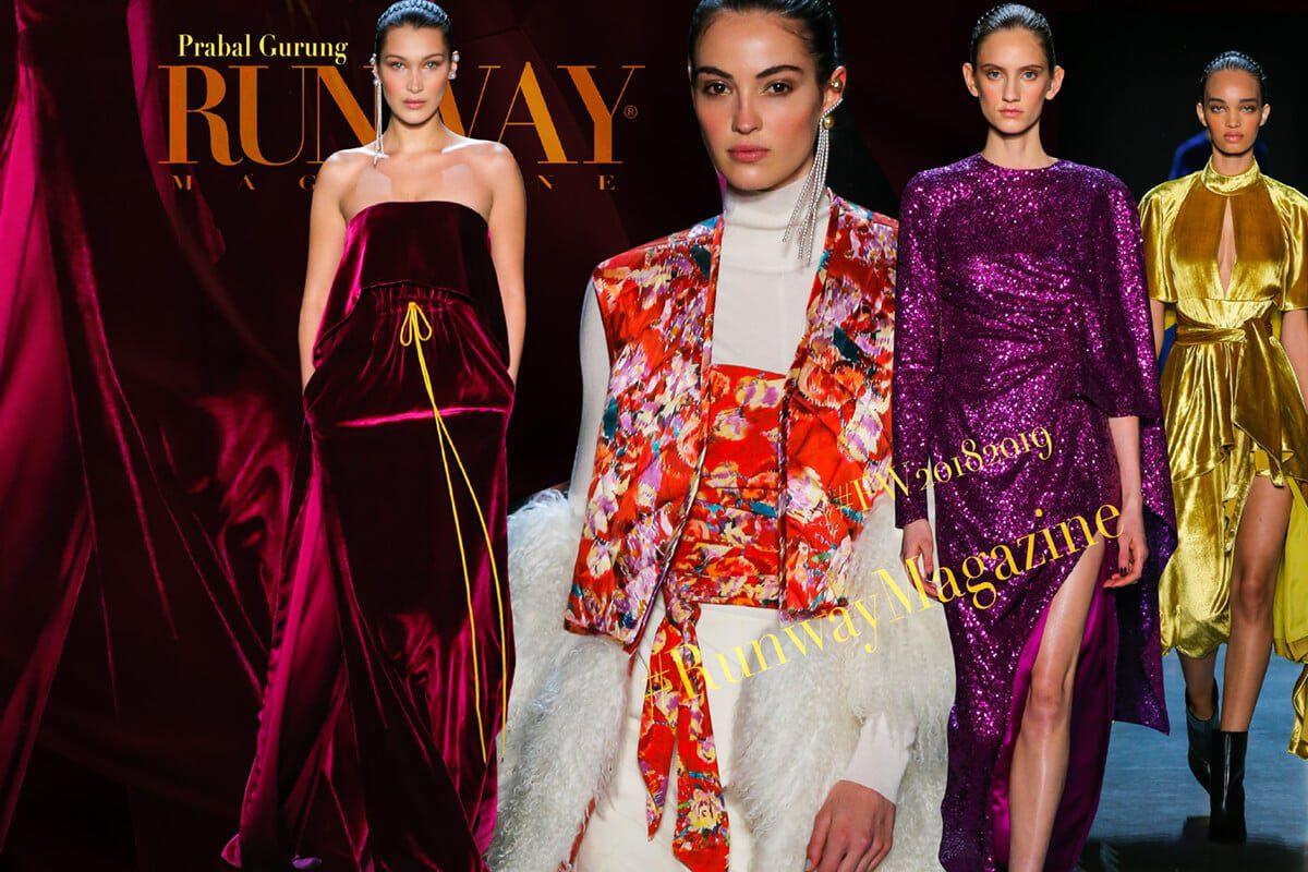 Prabal Gurung by Runway Magazine NYFW Fall Winter 2018-2019
