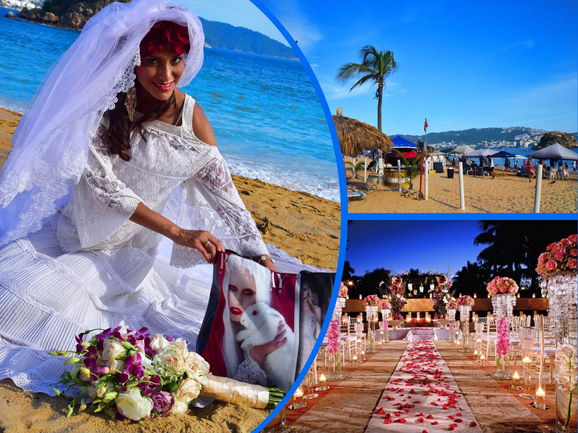 Wedding in Acapulco  by Runway Magazine