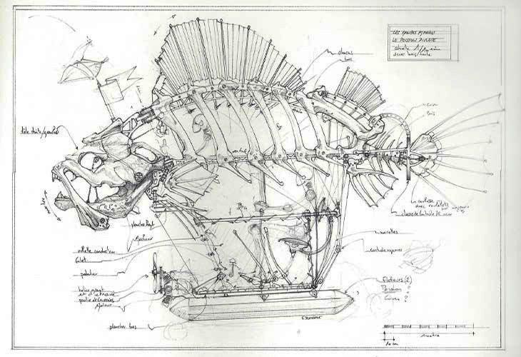 Runway-Magazine-Les-Machines-Nantes-Francois-Delaroziere-steampunk-mecanics-project-fish
