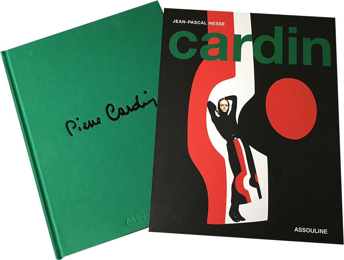 PIERRE CARDIN book signature by Runway Magazine