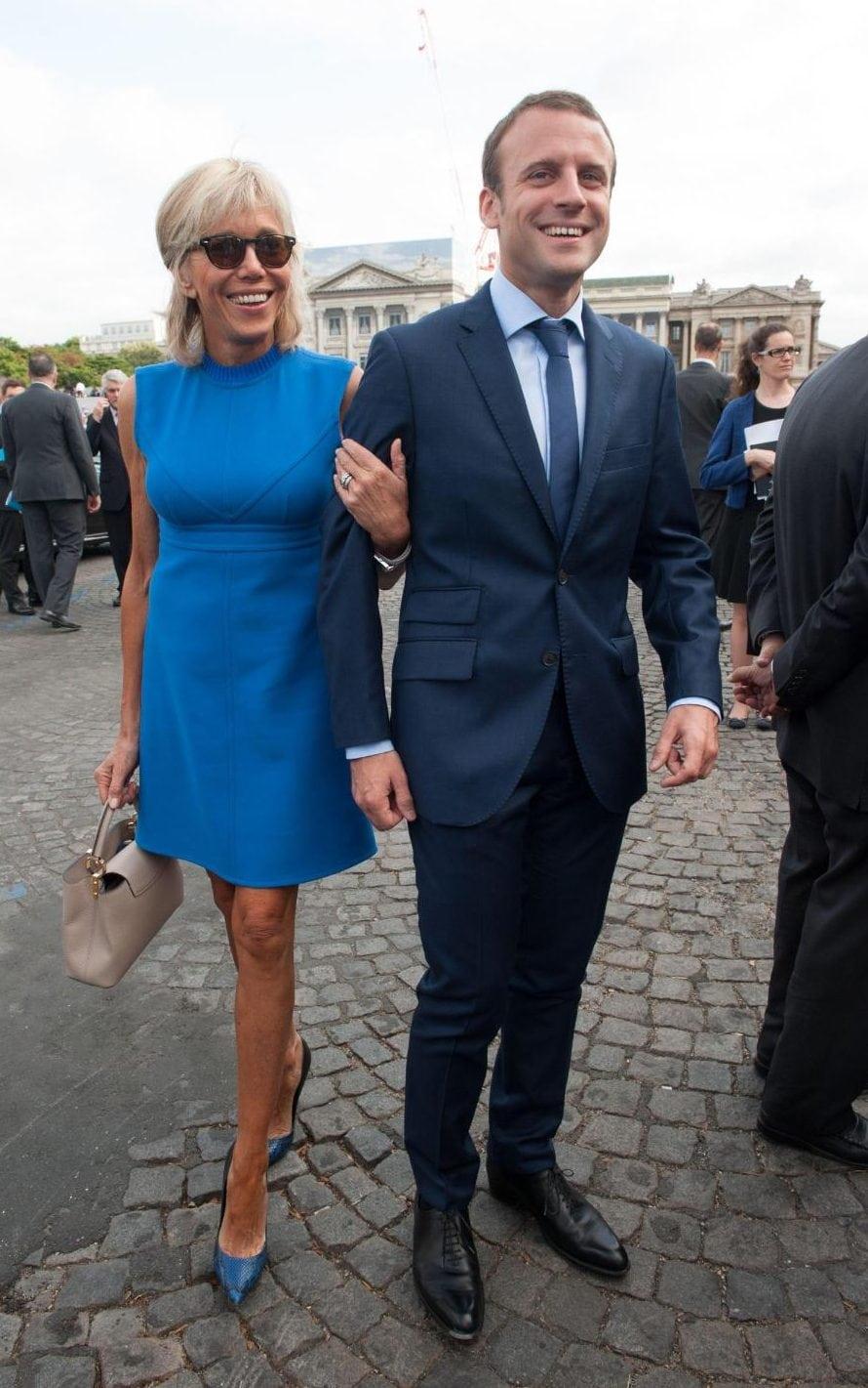Brigitte Macron First Fashion Lady of France by Runway Magazine