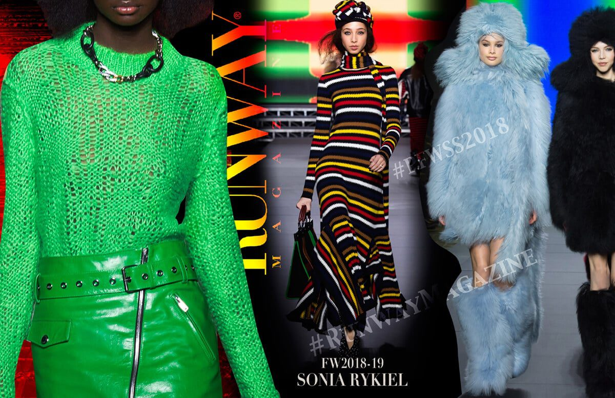 SONIA RYKIEL PFW by Runway Magazine Paris Fall Winter 2018-2019