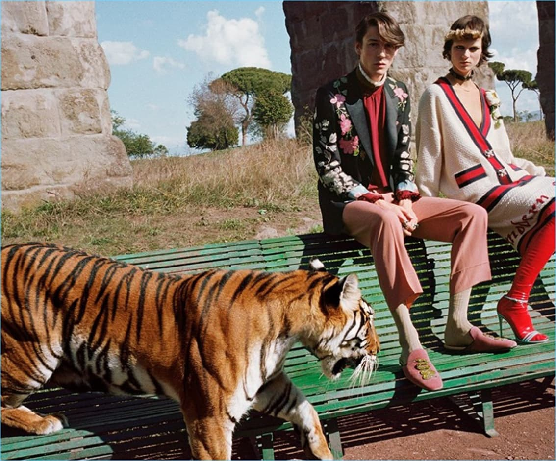 GUCCI commercials by Runway Magazine
