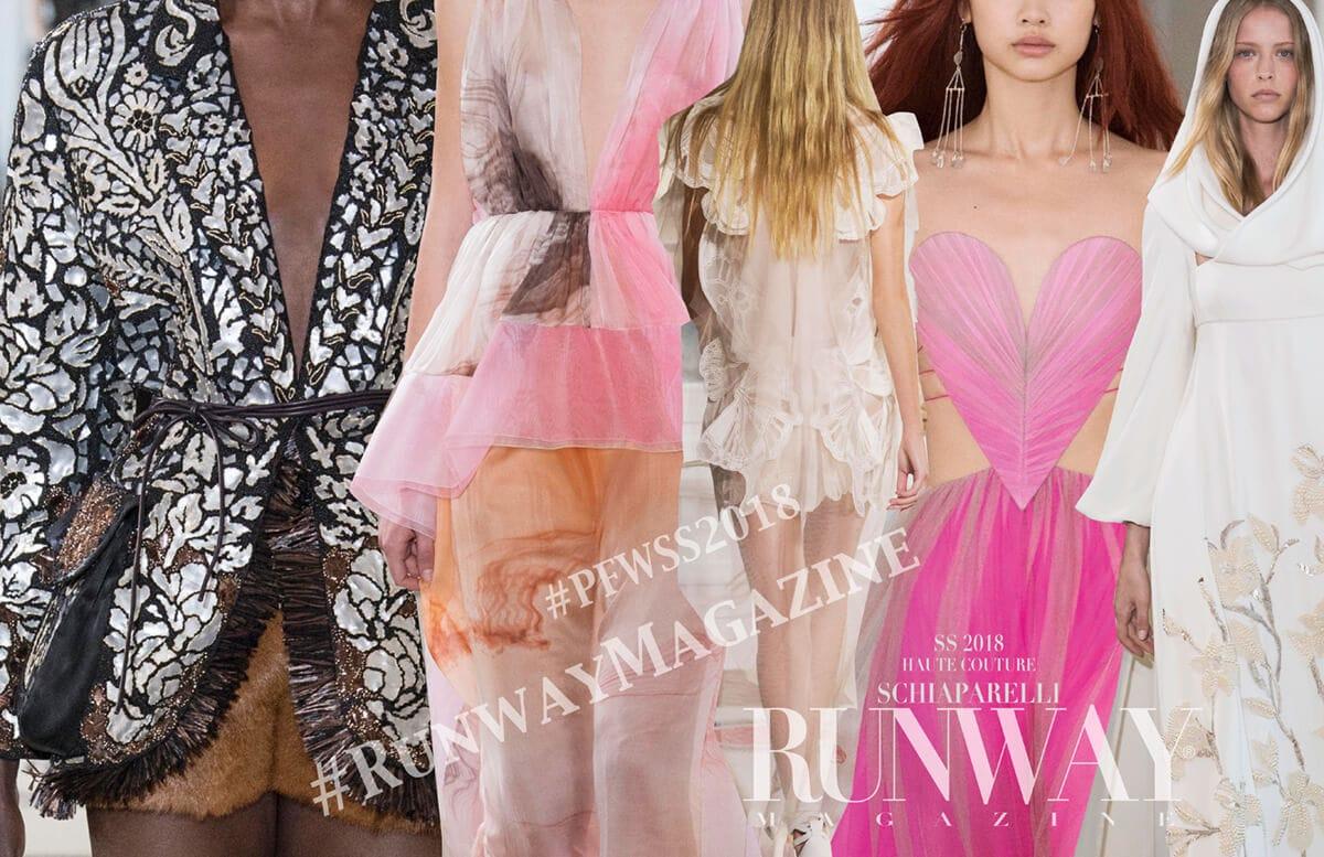 SCHIAPARELLI Haute Couture Spring Summer 2018 by Runway Magazine
