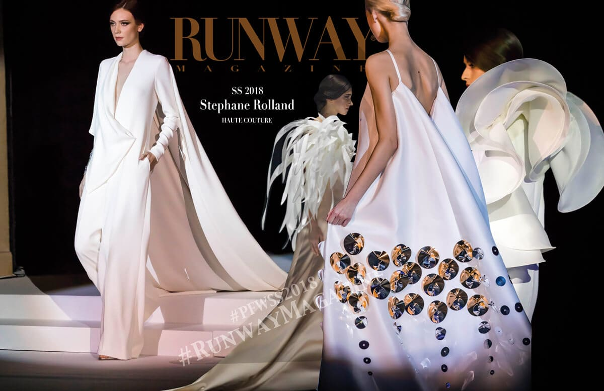 STEPHANE ROLLAND Haute Couture Spring Summer 2018 by Runway Magazine