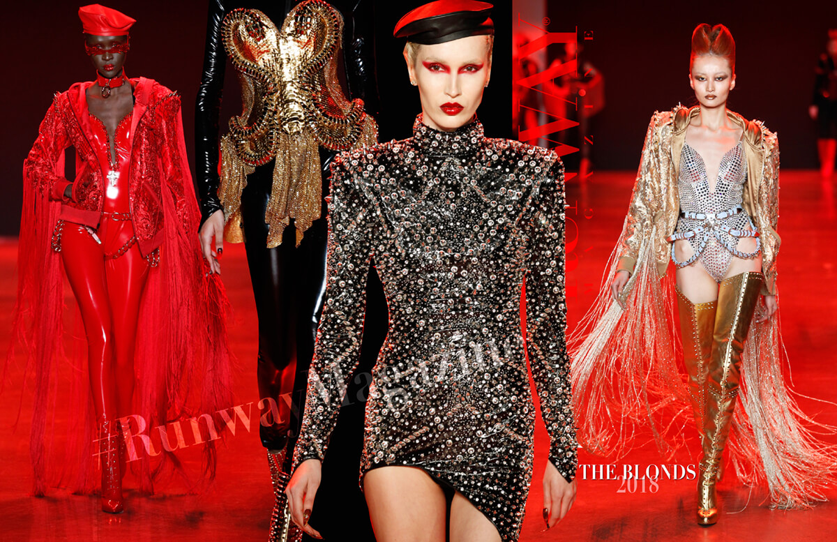 THE BLONDS Fall-Winter 2018-2019 by Runway Magazine New York