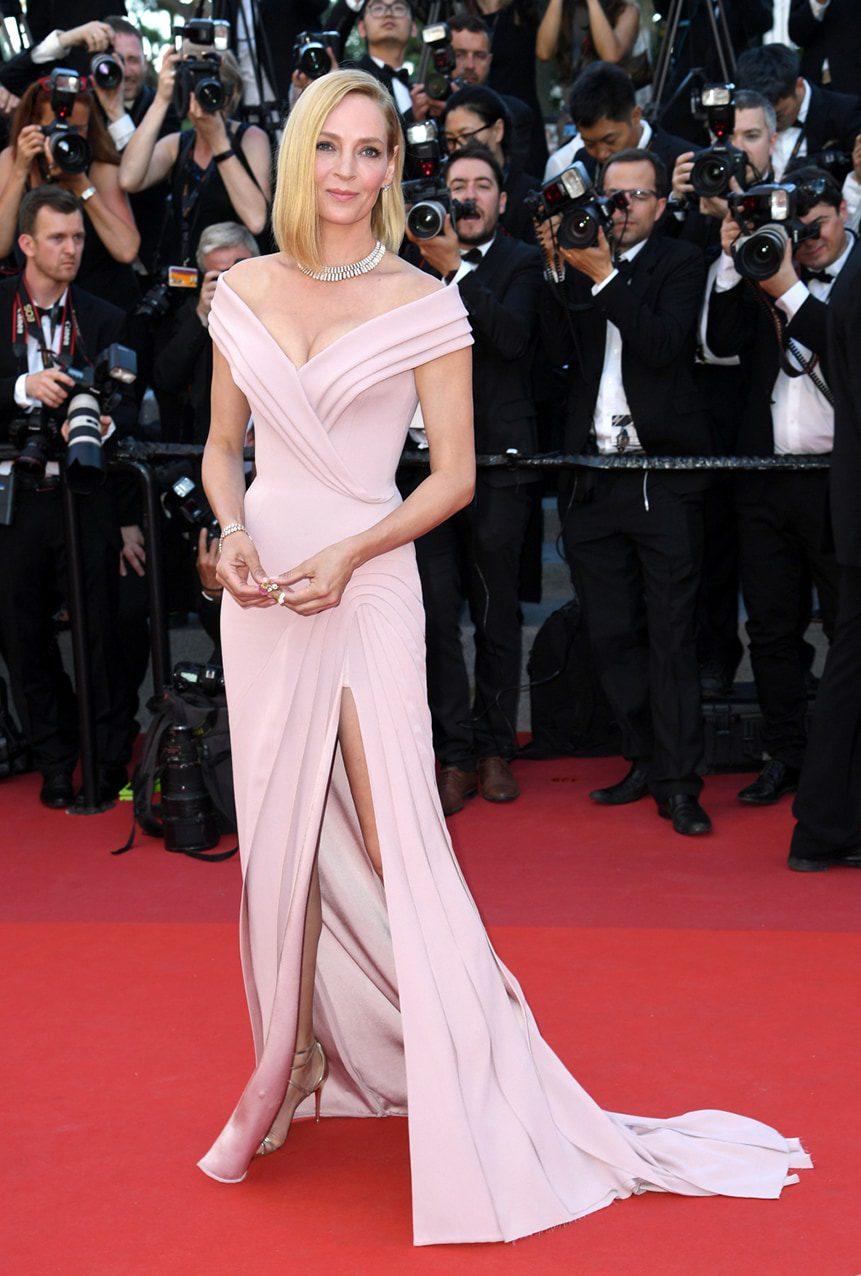 Uma Thurman by Runway Magazine Cannes Fashion Film Festival 2017