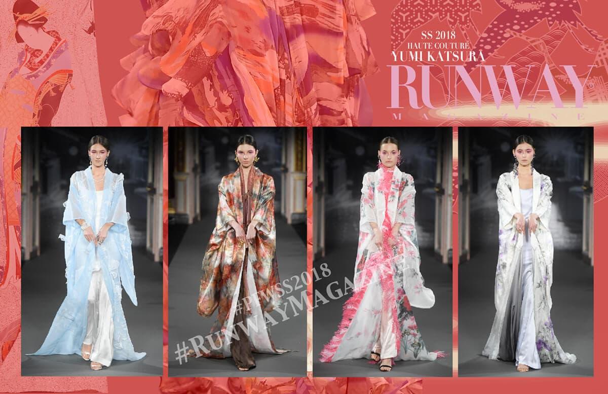 YUMI KATSURA Haute Couture Spring Summer 2018 by Runway Magazine