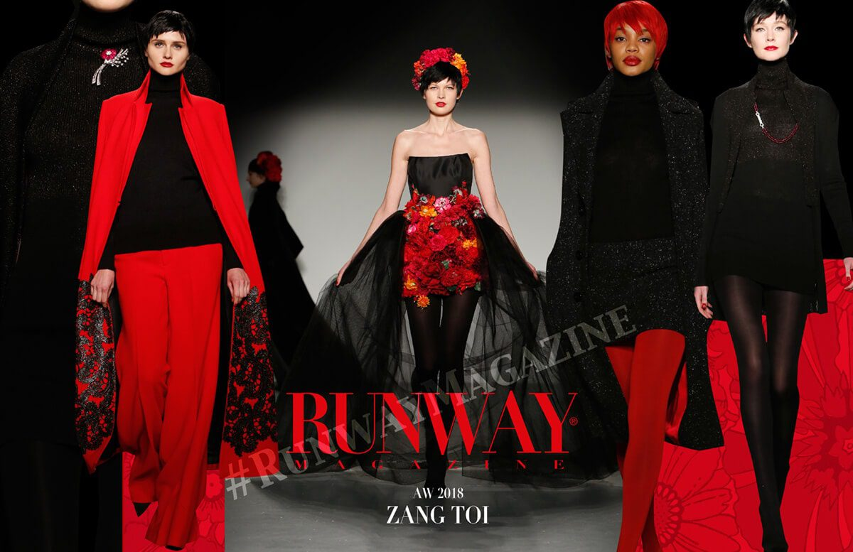 Zang Toi by Runway Magazine Fall Winter 2018-19