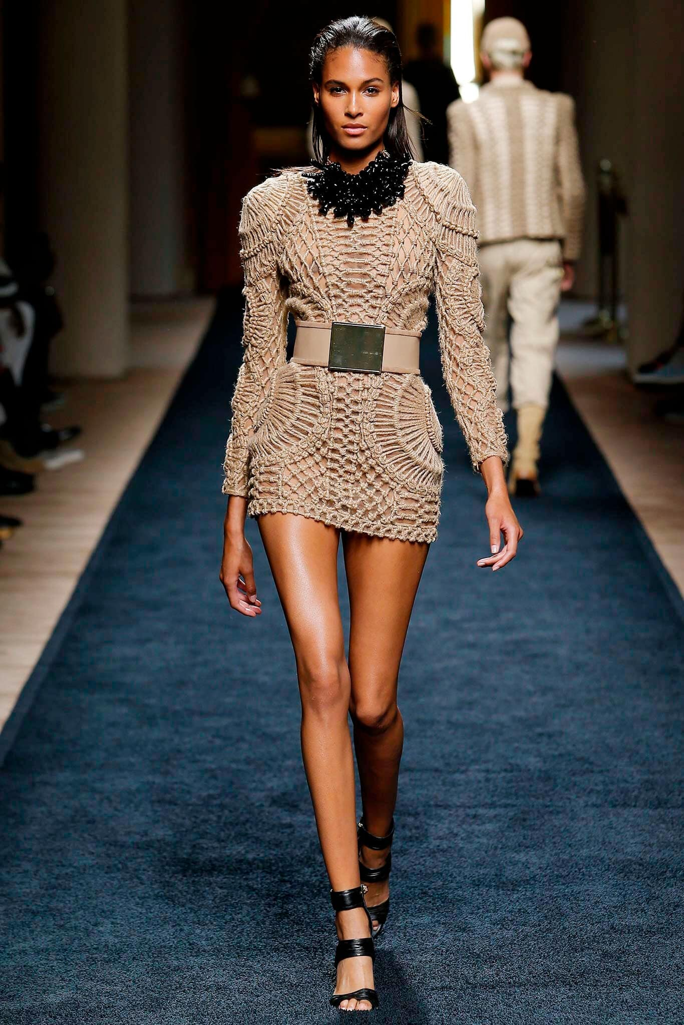 balmain-cindy-bruna-Runway-Magazine Cindy Bruna - French Top Model. by Runway Magazine