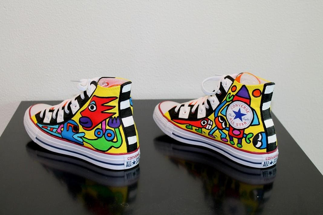 Converse All Stars Art Edition by Ton Pret by Runway Magazine