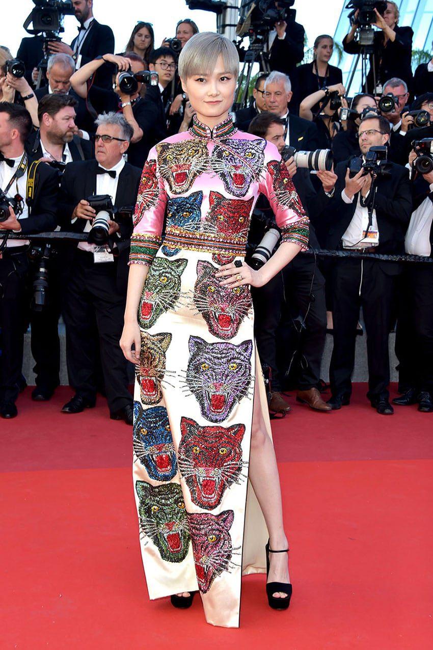 Li Yuchun by Runway Magazine Cannes Fashion Film Festival 2017