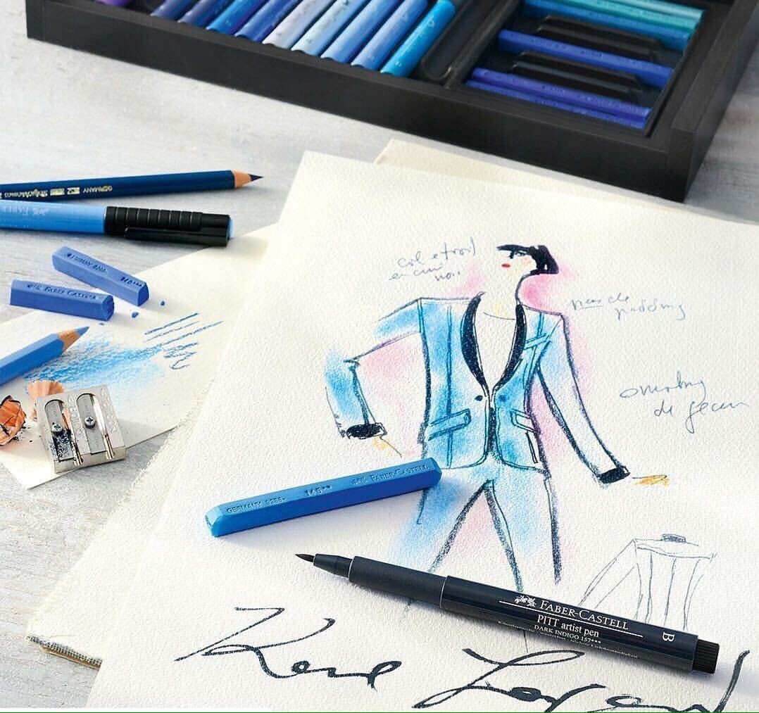 Creation Karl Lagerfeld with Faber-Castell by Runway Magazine