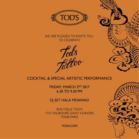 Great event at Todd's at Paris Fashion Week by Runway Magazine