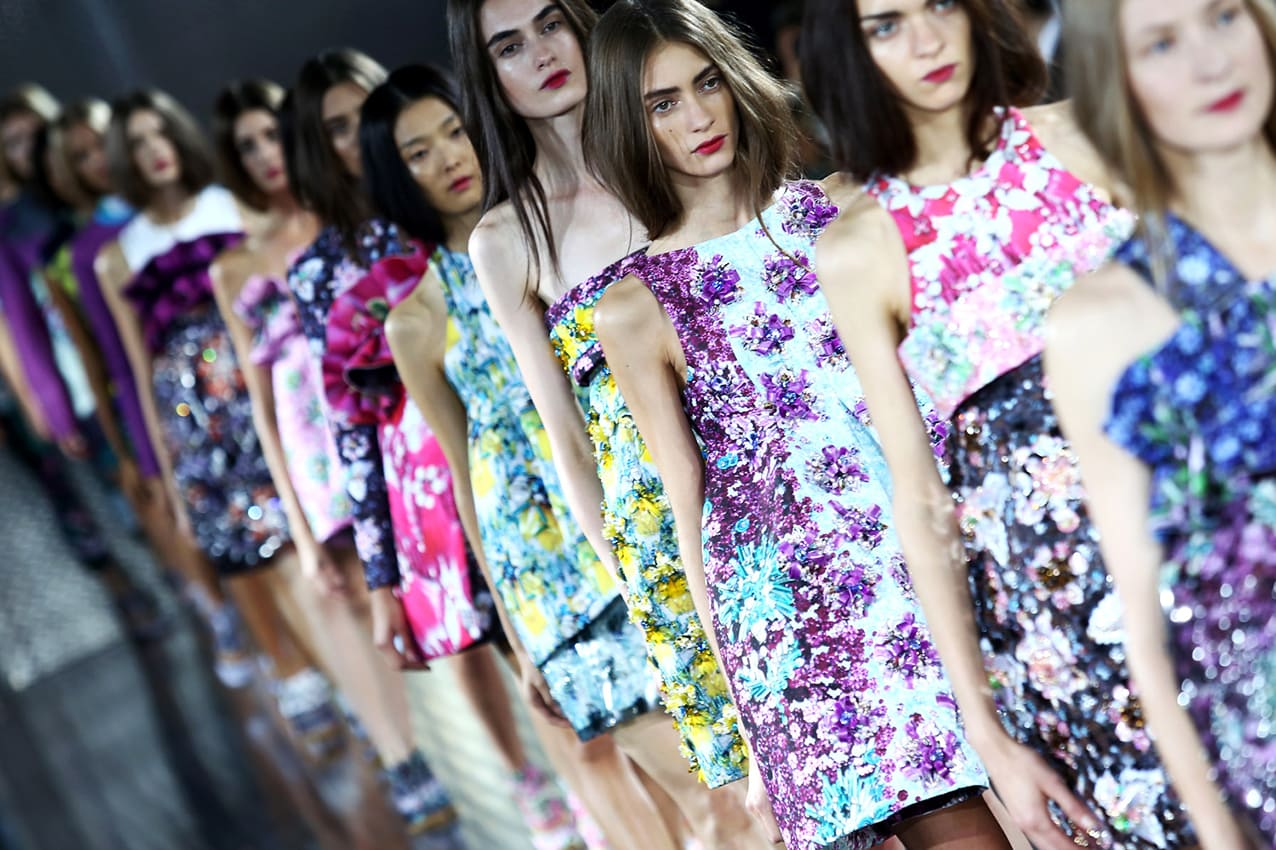 katrantzou-London-Fashion-week-2016-runway-magazine History of the Fashion Week
