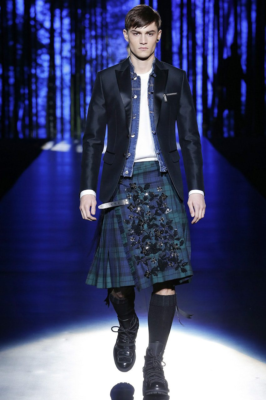 kilt-fashion-runway-magazine History of Skirt  by Runway Magazine