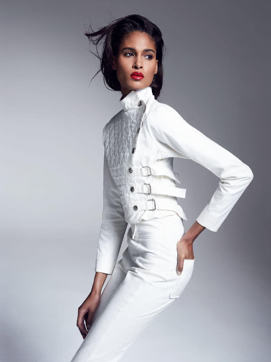 le-blanc-sporty-Cindy-Bruna-Runway-Magazine. Cindy Bruna - French Top Model. by Runway Magazine