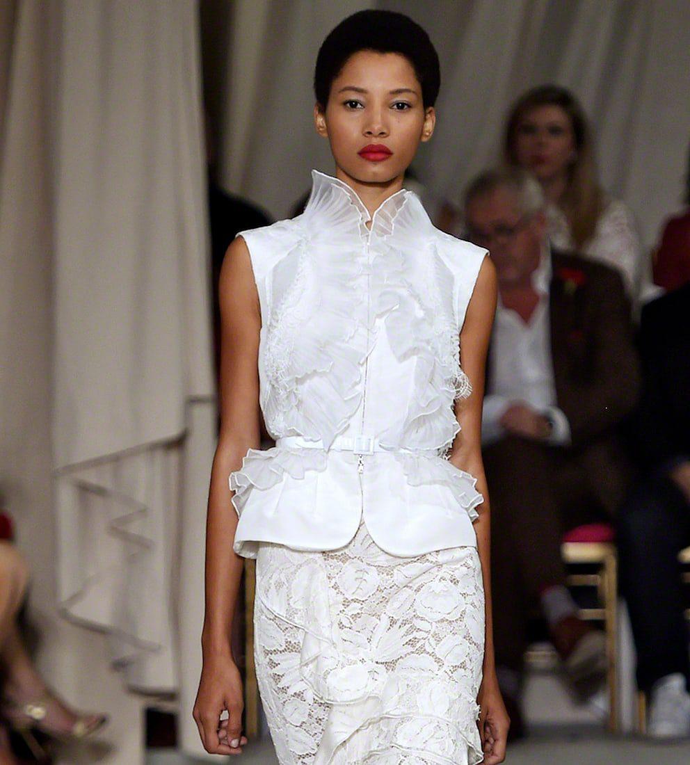 Oscar De La Renta - Runway - Spring 2016 New York Fashion Week TOP MODELS
