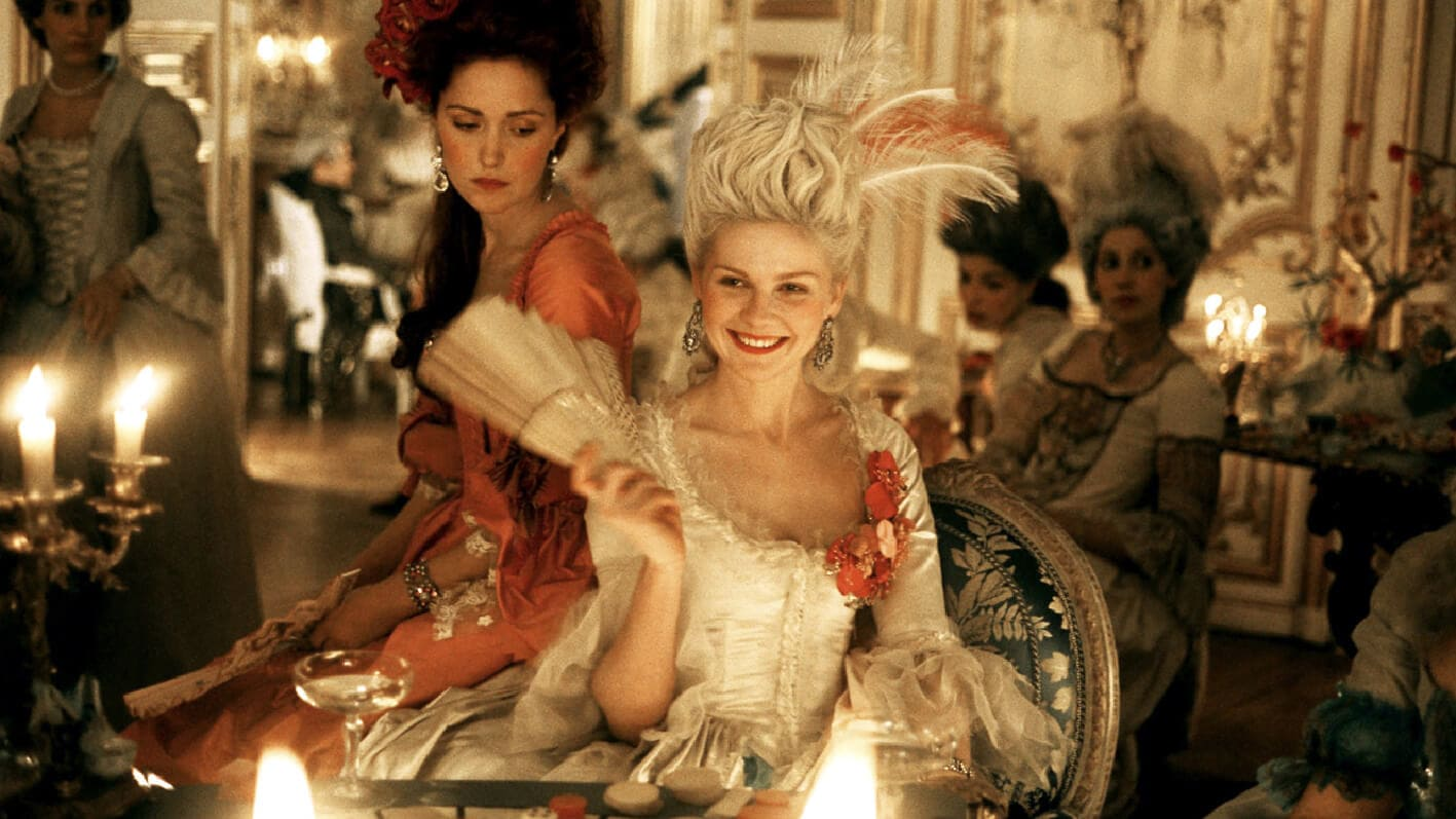 marie-antoinette-rose-byrne-kirsten-dunst-Runway-Magazine Versailles and Fashion
