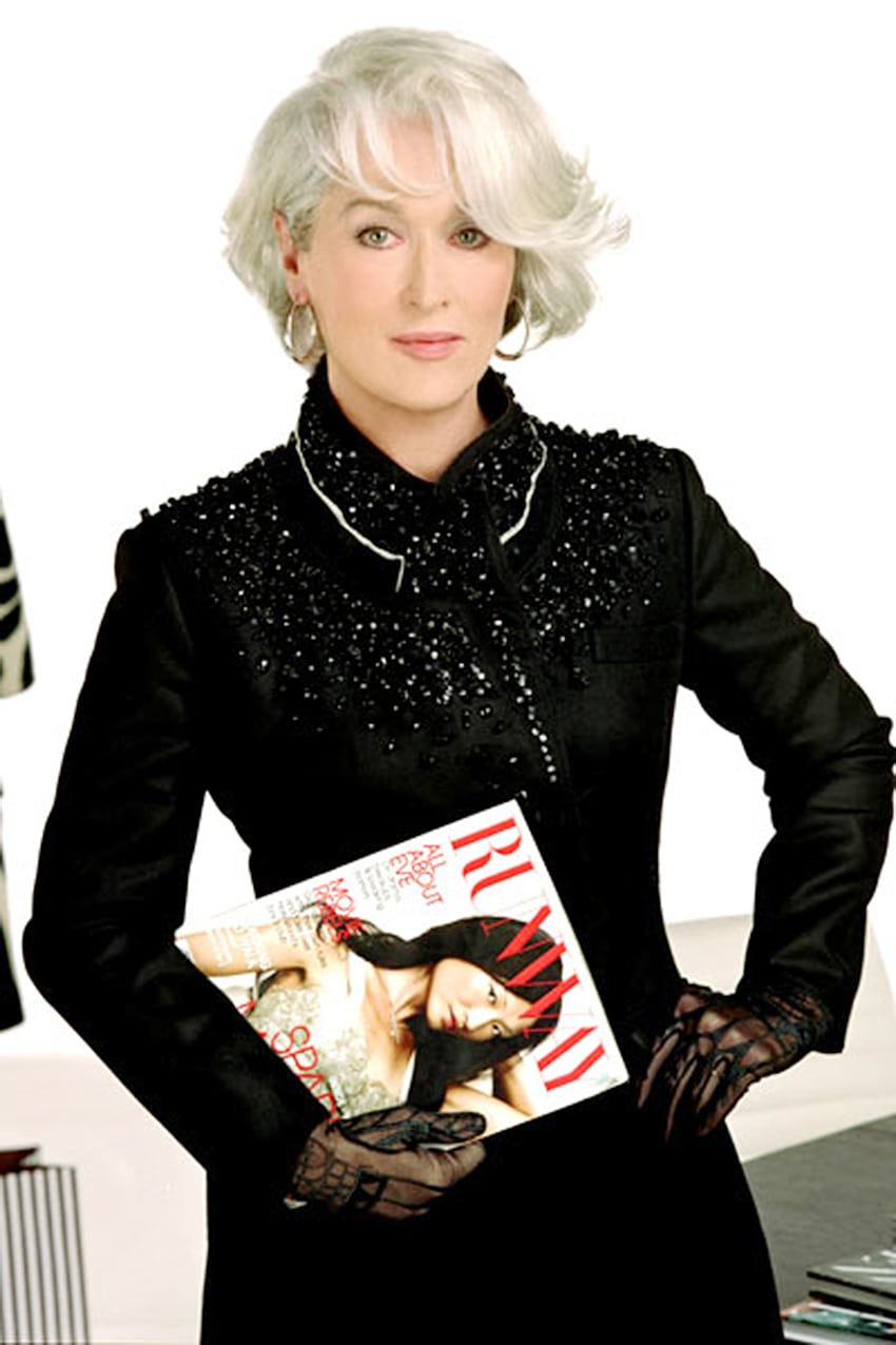 Meryl Streep with Runway Magazine