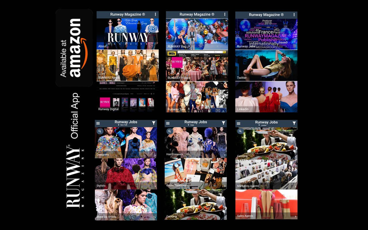 Runway Magazine 2018 App new release on Google Play and Amazon